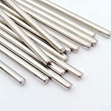 Ochoos RC Stainless Steel Rod Shaft Linear Rail Round Shaft Length150mm * Diameter 3mm/2mm/2.5mm/4mm/5mm 10pcs - (Length: 150mm, Diameter: 150mmx4mm 10pcs)