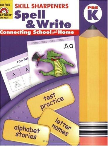 Download Skill Sharpeners Spell & Write, Pre-K pdf epub