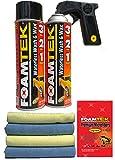 Foamtek Waterless Wash & Wax Promo Kit