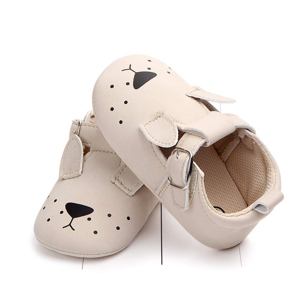 Cartoon Animal Antiskid and Soft Sole Baby Shoes