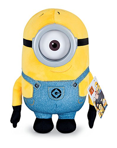 Despicable Me Huggable Plush Minion Carl Toy Figure -