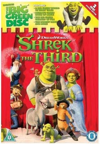 Shrek The Third 2007 Dw Dvd Price In Uae Amazon Uae Kanbkam