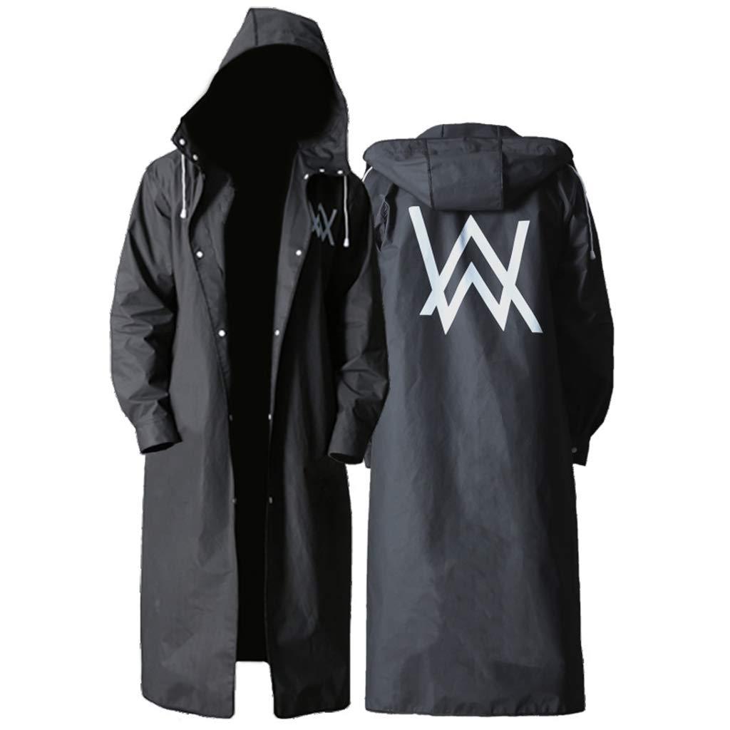 PYTXSM Raincoat Outdoor Raincoat Fashion Riding Hiking Equipment Raincoat (Size : XL)