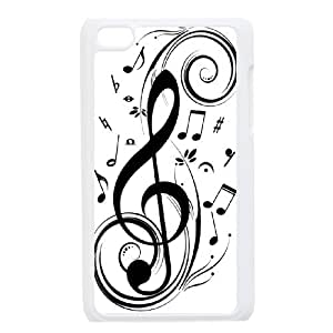 The symbol of music for Apple iPod Touch 4 Custom Phone Case IUP255127