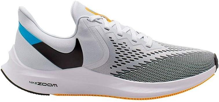 Nike - Zapatillas de running Zoom Winflo 6 para hombre Blanco Size: 47 EU: Amazon.es: Deportes y aire libre
