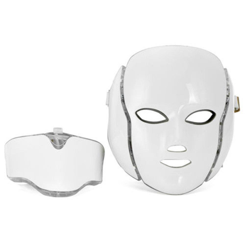 Terapia de luz para el cuidado facial de la cara