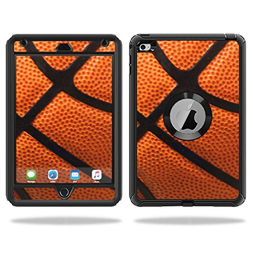 MightySkins Protective Vinyl Skin Decal for OtterBox Defender Apple iPad Mini 4 Case wrap cover sticker skins Basketball