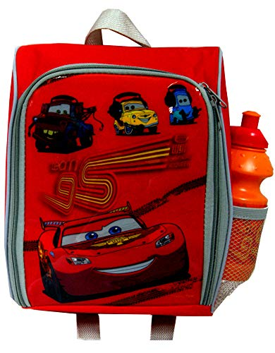 (Disney Cars pixar. Lunch Bag/ Boxes & Water Bottles Set ,Official)