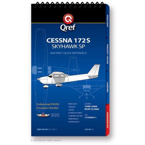 Cessna 172S Qref Book 9781607864110 Qref