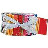 Sun Kissed Batiks Jelly Roll 40 2.5-inch Strips Moda Fabrics 4347JR