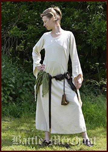 natur Mittelalterliches Larpkleid Wikingerkleid Battle Merchant Mittelalterkleid Neira Kleid nT04I45q