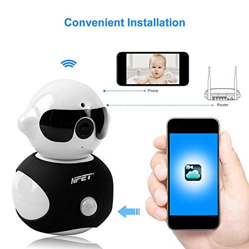 NPET Wireless IP Camera Home Security Surveillance HD Wif...