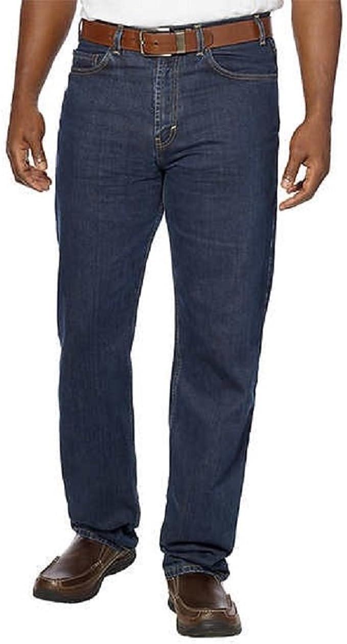 Kirkland Signature Men/'s Authentic 5 Pocket Blue Denim Jeans Lot of 2