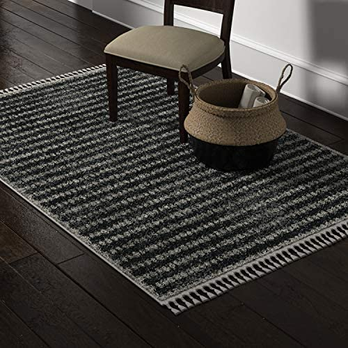 Amazon Brand Stone Beam Modern Contemporary Area Rug