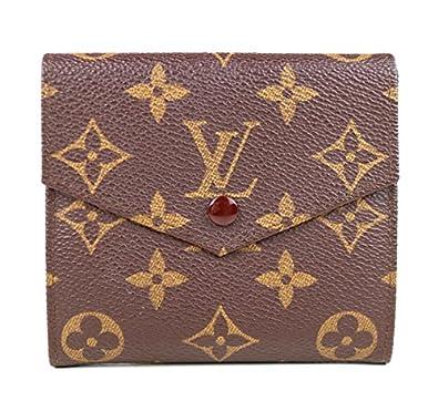 823d9c0cbec2 Amazon | (ルイ・ヴィトン) LOUIS VUITTON 二つ折り財布 旧Wホック財布 ...