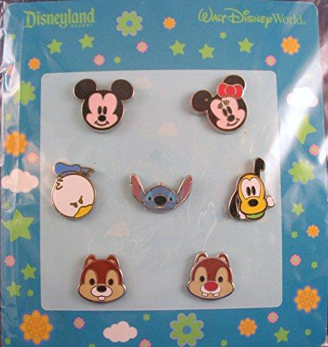 7 Piece Disney Pin Starter Set Baby Faces 2010