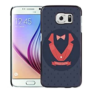 NEW Unique Custom Designed Samsung Galaxy S6 Phone Case With Santas Favorite Evil Character_Black Phone Case