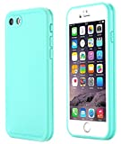 iPhone 6S Waterproof Case, Super Slim Thin Light [360 All Round Protective] Full-Sealed IPX-6 Waterproof Shockproof Dust/Snow Proof Case Cover for iPhone 6 / 6S 4.7 inch(Green)