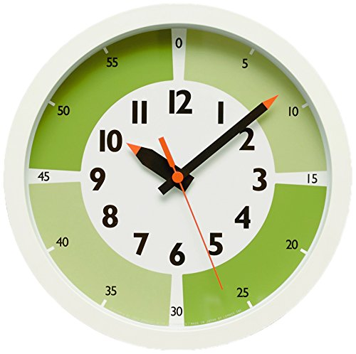 fun pun clock with color! YD15-01 GN B00YP2CC28 GN GN