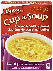 Lipton Cup-a-Soup Instant Soup Mix Chicken Noodle Supreme 51 GR