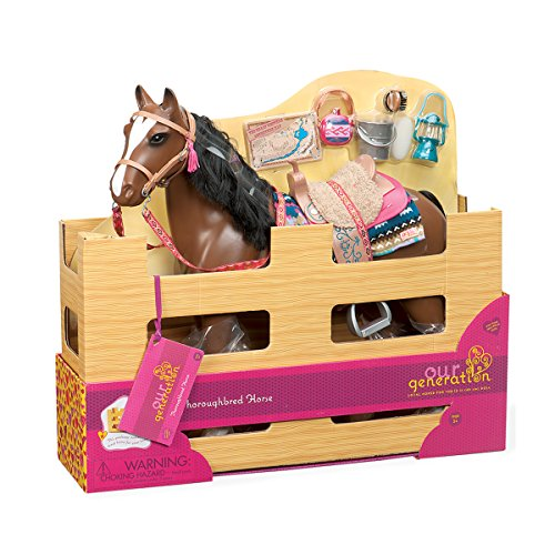 Our Generation Horse - Thoroughbred (American Girl Dolls For Sale In Canada)