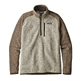 Patagonia Mens Better Sweater 1/4 Zip (X-Large, Stonewash)