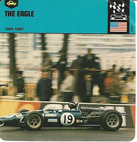 1978 Edito-Service, Automobile Rally Card, 06.10 The Eagle, Race Car (Eagles Race)