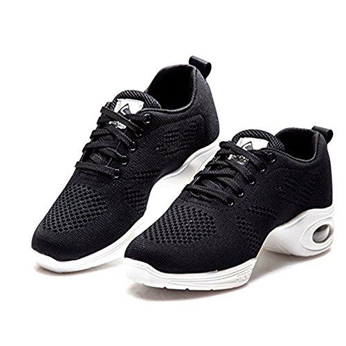 MQUPIN Women's Hayasu Training Shoe (4US, Black)