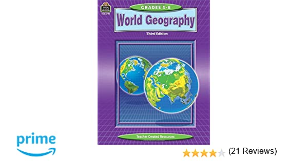 Workbook continents for kids worksheets : Amazon.com: World Geography (Teacher Created Materials ...