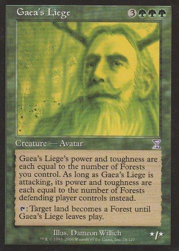 Gaea's Liege (Magic the Gathering : Time Spiral Timeshifted #78 Rare) (Time Spiral Timeshifted Magic)