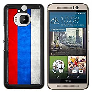 "Be-Star Único Patrón Plástico Duro Fundas Cover Cubre Hard Case Cover Para HTC One M9+ / M9 Plus (Not M9) ( Bandera nacional de la Serie-Rusia"" )"