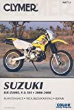 img - for Clymer Suzuki DR-Z400E, S & SM 2000-2008 (Clymer Color Wiring Diagrams) book / textbook / text book