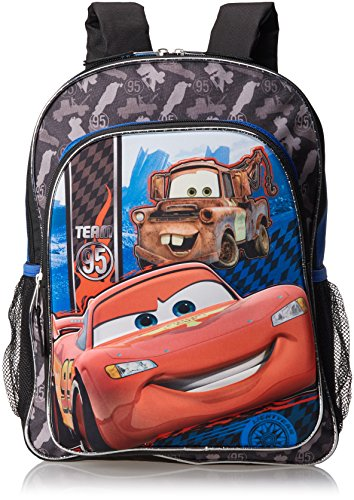 Fast Forward Boys Little Boys' Cars 3D Eva Molded Backpack, Blue/Black, 16x12x5