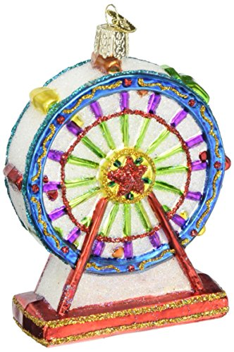 Old World Christmas Ornaments: Ferris Wheel Glass Blown Ornaments for Christmas (Christmas Ferris Wheel)