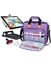 Luxja Carrying Bag for A4 Light Pad and Diamond Painting Tools, Protective Case for Diamond Painting Light Box and Accessories (Fits for A4 Light Pad)
