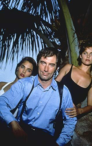 Licence To Kill James Bond Timothy Dalton Talisa Soto Photo Original 35mm slide