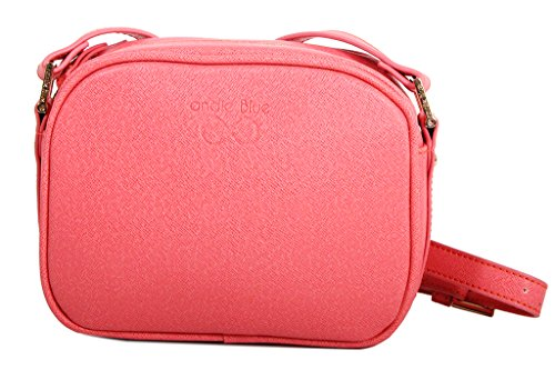 Andie Collection Blue A8017 Bandolera Rosa Bolso Zujj q6w0zppF
