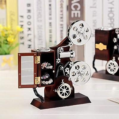 SPFAZJ Navidad Musical proyector Creativa Caja joyería clásico ...