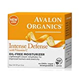 Avalon Organics Intense Defense Oil-Free Moisturizer, 2 Ounce