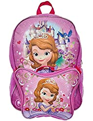 Everbright Sofia The First School Backpack Little Kids