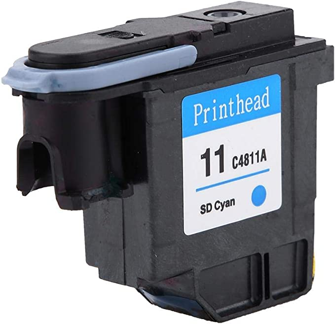 Pbzydu Cabezal de impresión de Colores Naturales, impresión Suave Cabezal de impresión sin Atascos de Papel para HP 500 510 Serie 800(Azul C4811A): Amazon.es: Hogar