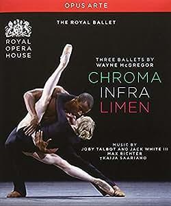 McGregor: Three Ballets (Chroma / Infra / Limen) [Blu-ray] [Import]