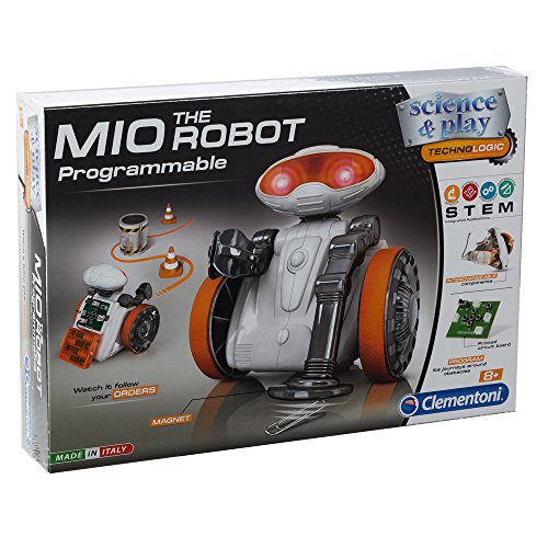 Clementoni Fun Programmable Robotic Pal, DIY Science & Play Assembly Kit, Ages 8 and Up