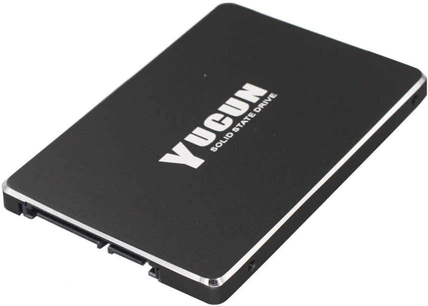 YUCUN 2.5 Pulgadas SATA III Disco Duro sólido Interno de Estado sólido R570 120GB SSD