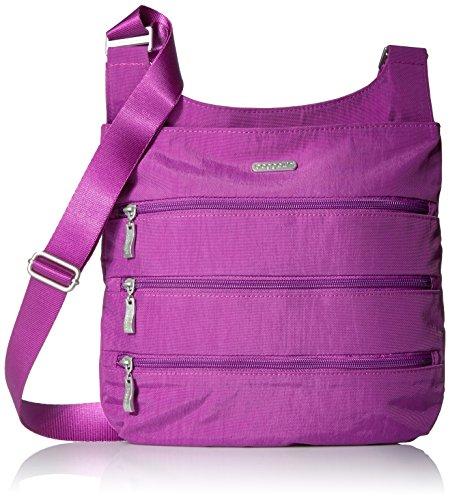 Baggallini Big Zipper Crossbody Bag - Magenta - One Size