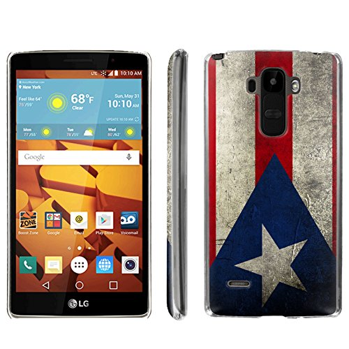 [ArmorXtreme] Phone Case for LG G Stylo LS770 / LG G4 Note Stylus / LG G Stylo H631 / MS631 [Clear] [Ultra Slim Cover Case] - [Puerto Rico Flag]