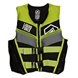 Liquid Force 2017 Fury CGA Youth Vest (Black/Green) Kid's Life Jacket