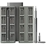 Mini Precision Screwdriver Set with Premium Quality Aluminum Case, 48 in 1 Small Magnetic Screwdriver Bit Repair Tool Kit for iPhone, Smartphone, iPad, PC, Cameras, Electronic Toys, Laptop, Eyeglasses, Watches and Other Appliances