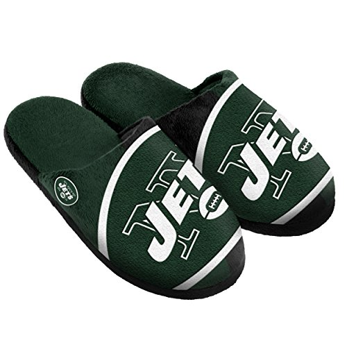- New York Jets Split Color Slide Slipper Medium