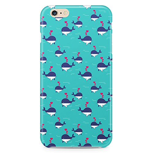 Phone Case For Apple iPhone 6 - I Whale Always Love You Hard Hardshell